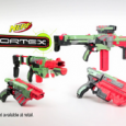 The Nerf Vortex series of Nerf guns are sure to be one of the hot Christmas toys in 2011. There are four Nerf Vortex guns to choose from and frankly they all look fantastic. When I first saw the range I thought WOW. Then I thought, hmm perhaps I shouldn't be encouraging boys to play with guns even if they...