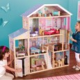 "If you're looking for the ultimate dollhouse then the KidKraft Majestic Mansion Dollhouse is it! With eight rooms to decorate and 35 pieces of furniture and accessories included, this dollhouse will provide endless entertainment for little girls everywhere! And an absolute bonus is that it will accommodate most types of dolls up to 12"", for example Barbie or Bratz. Read..."