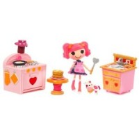 Mini Lalaloopsy Playset Berry Jars n' Jam Cook Off
