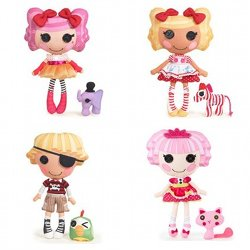 Lalaloopsy Soft Dolls - four more currently available