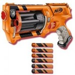The Nerf Maverick Gear Up version toy gun