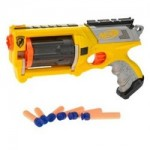 The Standard version of the Nerf Maverick toy gun