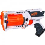 The Nerf Maverick Whiteout version toy gun