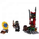 Ninjago Cole and his Ninja Training Outpost 2516