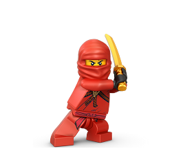 Ninjago Kai - the red Ninja