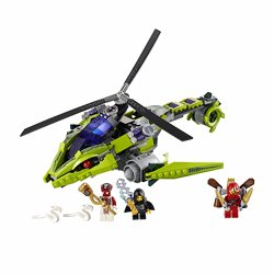 Jetpack Ninjago Kai ZX included with the Rattlecopter 9443
