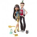 The Monster High Cleo de Nile and Deuce Gorgon giftset dolls