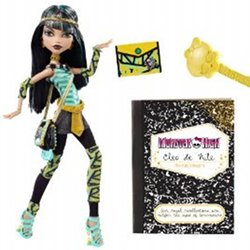 The Monster High Cleo de Nile doll