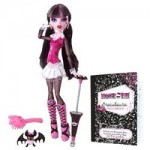 The Monster High Draculaura doll plus pet bat