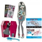 The Monster High Frankie Stein doll with Classroom playset