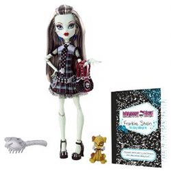 The Monster High Frankie Stein doll