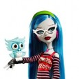 Monster High Ghoulia Yelps was first introduced as part of a Christmastime Monster High release in 2010.  Ghoulia was one of the first dolls in the expanding Monster High cast of characters.  Subsequent to her introduction, she has seen five more versions of herself appear in various themed sub-lines. Go straight to check prices and availability of the Ghoulia Yelps...