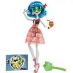 The Monster High Skull Shores Ghoulia Yelps doll