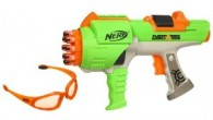 When it was released in 2004 the Nerf Hyperfire was THE dart blaster of choice, soon becoming the official weapon of the Nerf Dart Tag League, the annual dart tag event sponsored by Nerf.  While it was eventually replaced in 2009 by the Furyfire, the Hyperfire still remains a well regarded Nerf Blaster. Users refer to it as the AK-47...
