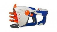 First introduced in 2004, the Nerf Hornet is part of the Nerf N-Strike series.  This blaster is  a fully automatic pump action, multi dart capable of firing up to six MicroDarts at once. So if you like the idea of shooting down your opponent in a hail of darts with just one squeeze of the trigger then take a closer...