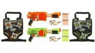 The Nerf Furyfire is a nifty single fire Dart Tag blaster that is only available in a 2 weapon set. The Furyfire set is the perfect starter pack for two siblings or firends and includes two blasters, twenty darts, two scoring vest, two sets of eyewear and instructions for 6 official DART TAG games. Go directly to check prices and...