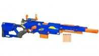"The Nerf Longstrike is Hasbro's answer to the sniper rifle.  Touted as the longest gun in the Nerf product line this weapon measures an impressive three feet three and one half inches. For great deals and customer reviews click the ""Click Here For More Info"" button below or read the Tommy's Toy review.     Nerf Longstrike Review The Longstrike..."